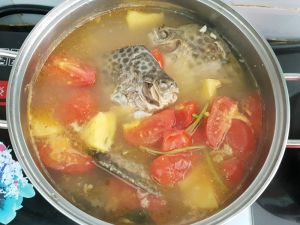 Thưởng thức cá nâu nấu ngot cực lạ cực mát ngày nóng