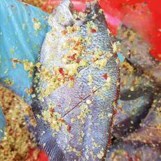 Cá sặc 1 nắng ướp sả ớt